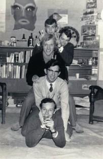 1971 groepsfoto kamer Plesman D5