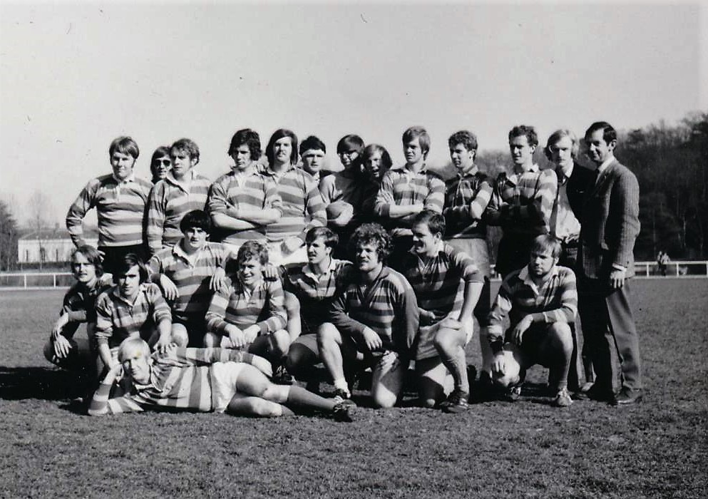 1971 mei Rugbyclub Nijenrode Parijs