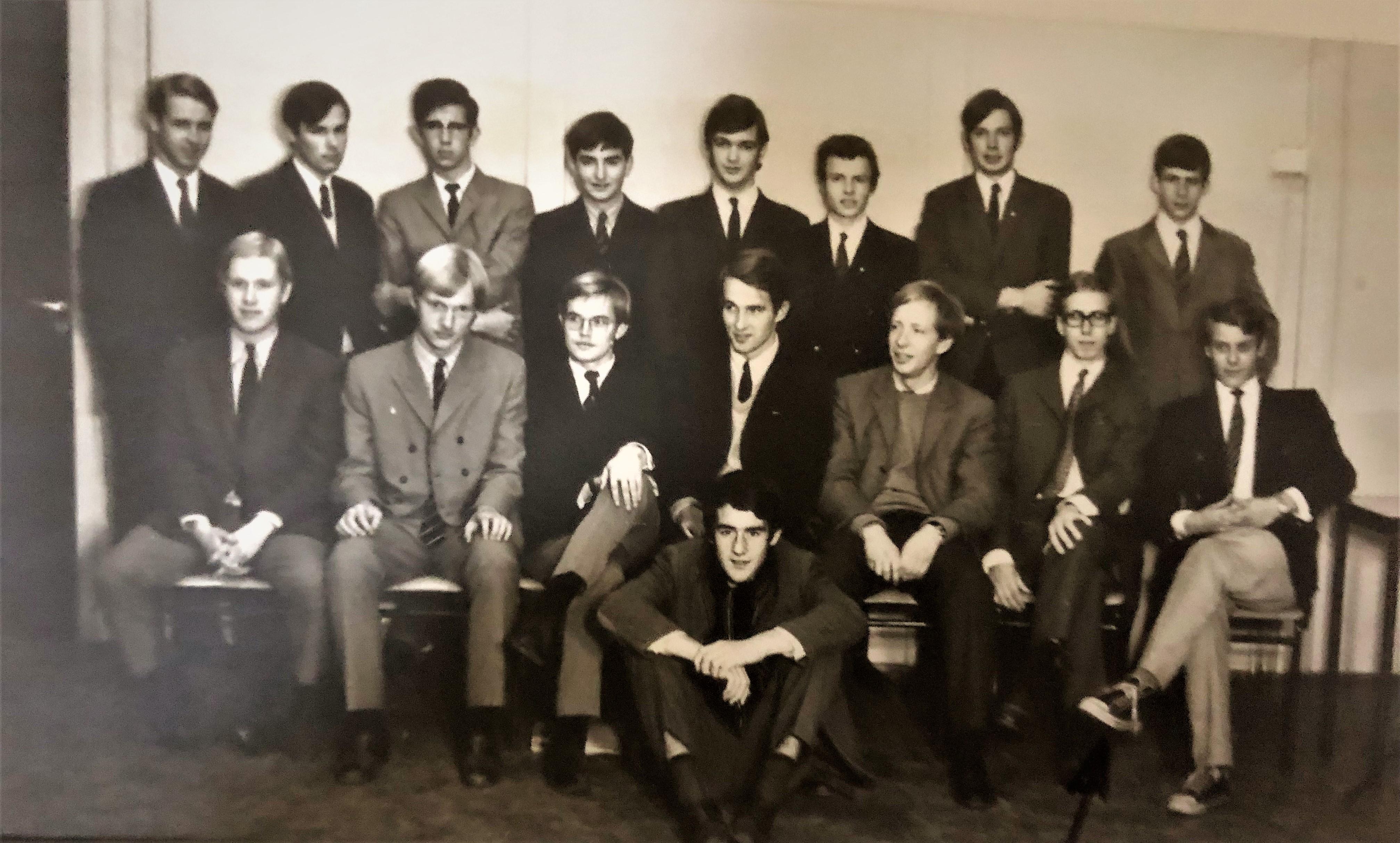 1969 Nijenrode 1e jaar
